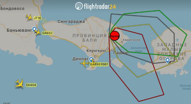 Бали 2017 год — Отслеживание самолетов flightradar24 на русском