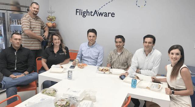 Офис компании Flightaware