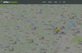 RadarBox24 – трекер самолетов онлайн