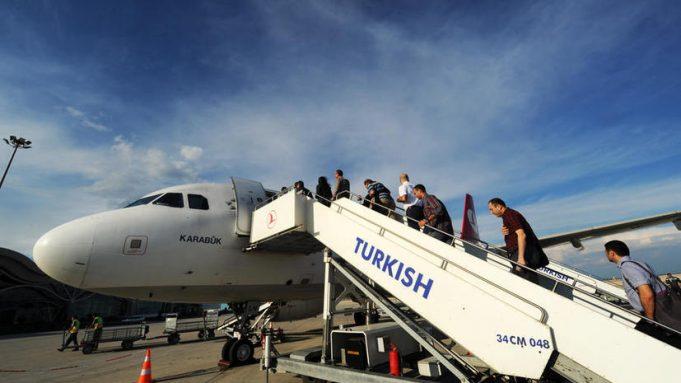 «Турецкие авиалинии» увеличили пассажиропоток