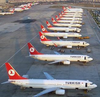 Пассажиропоток российских граждан на «Турецких авиалиниях»