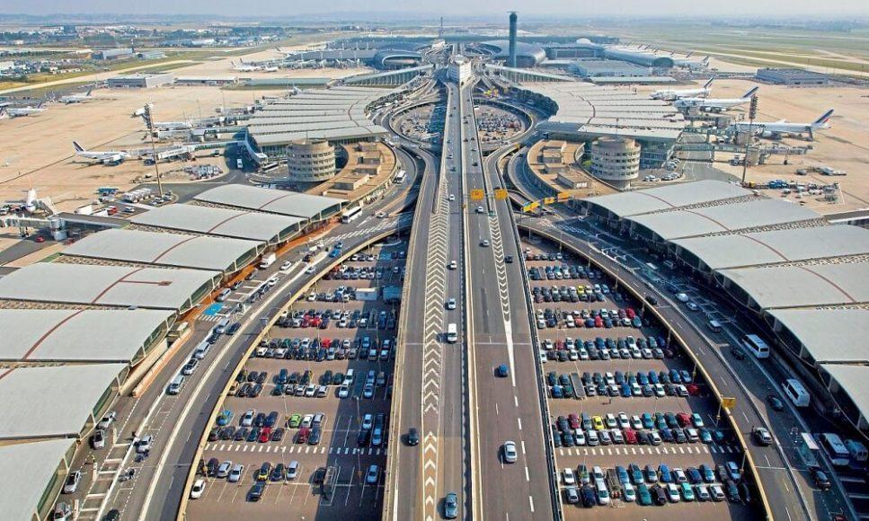 Международный аэропорт Шарль-де-Голль, Париж, Франция