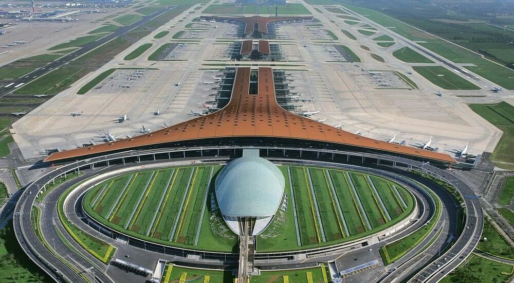 Аэропорт Шоуду, Китай