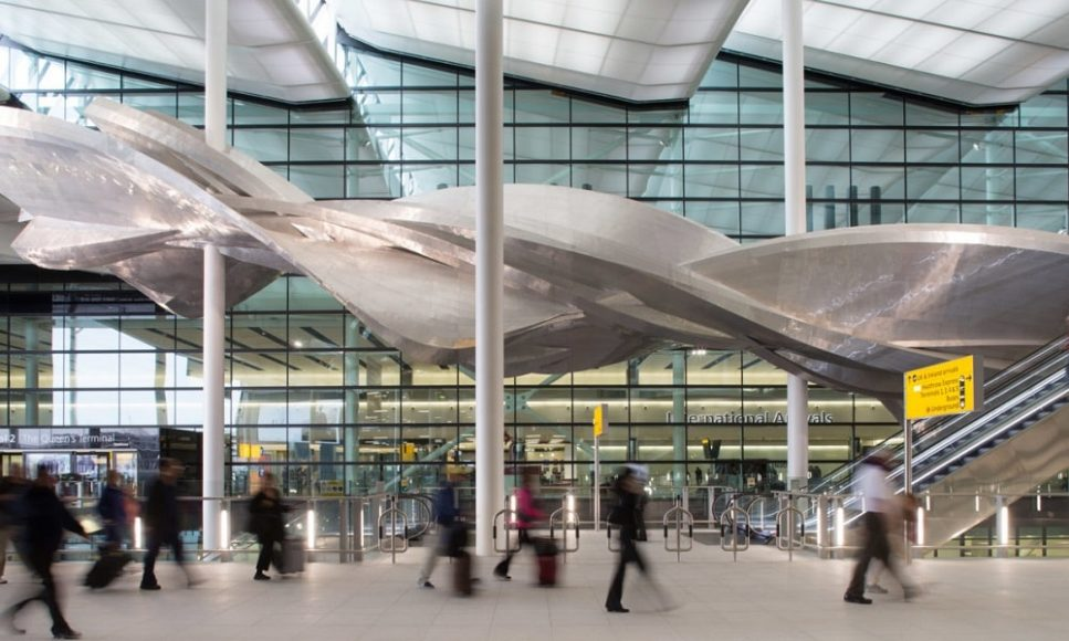 Аэропорт Хитроу, Лондон, Великобритания