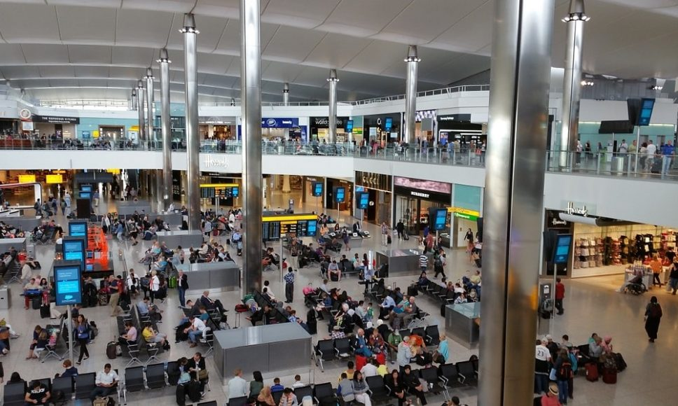 Международный аэропорт Хитроу в Лондоне, Великобритания