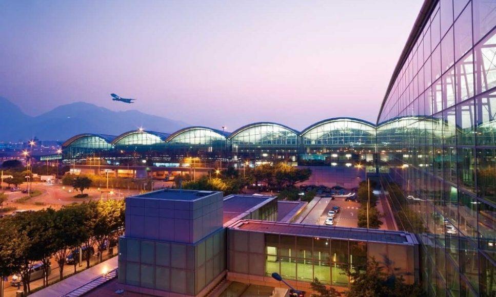 Международный аэропорт Гонконг в Китае