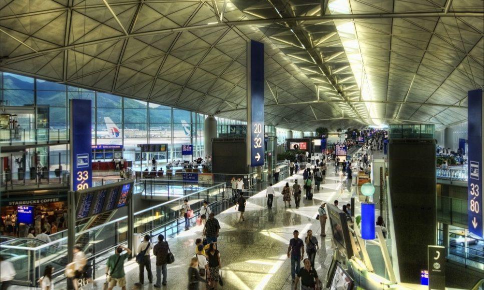 Аэропорт Гонконг в Китае