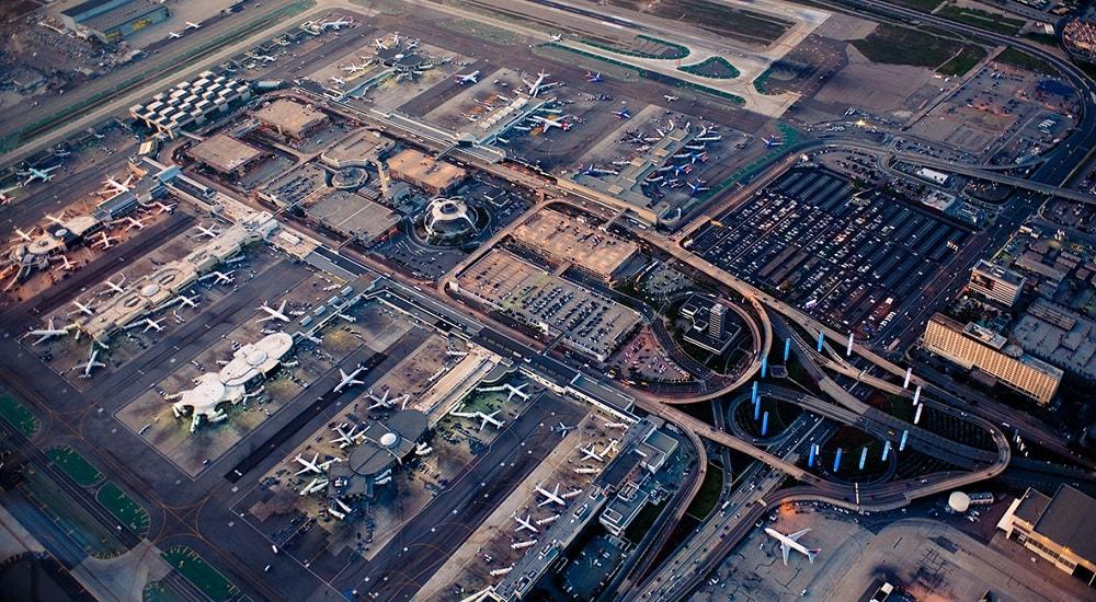 Международный аэропорт Лос-Анджелес, США