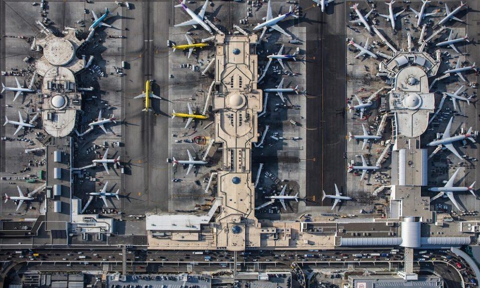 Лос-Анджелесский аэропорт в США