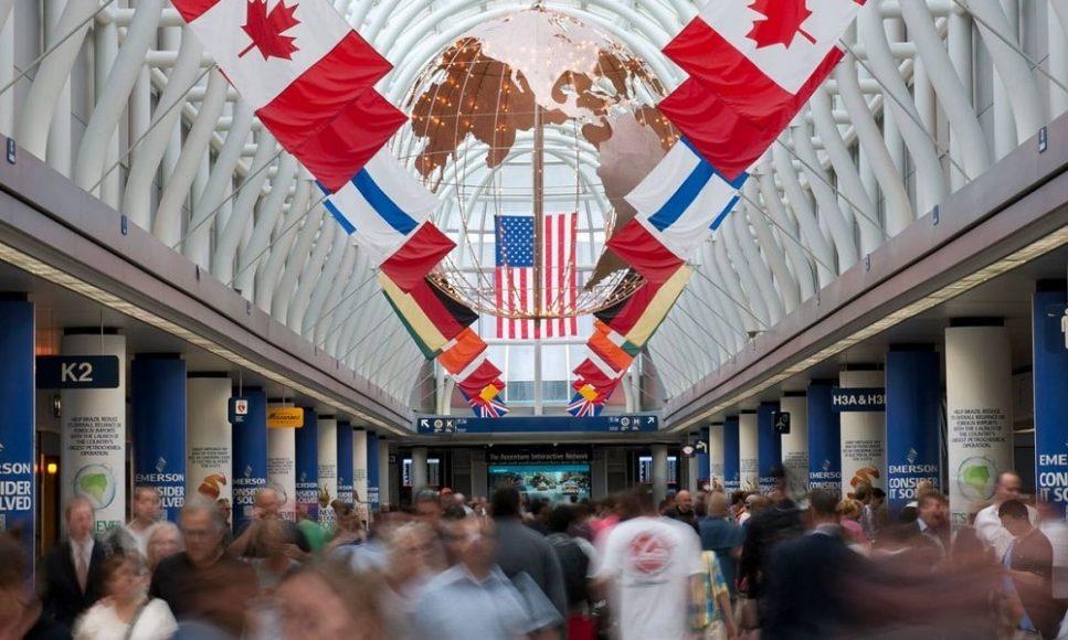 Международный аэропорт О'Хара, Чикаго, США
