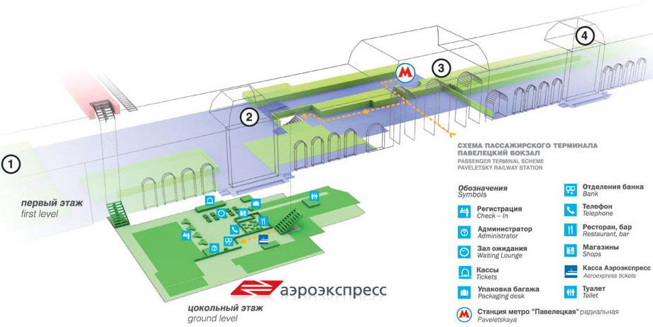 Аэроэкспресс до аэропорта Домодедово