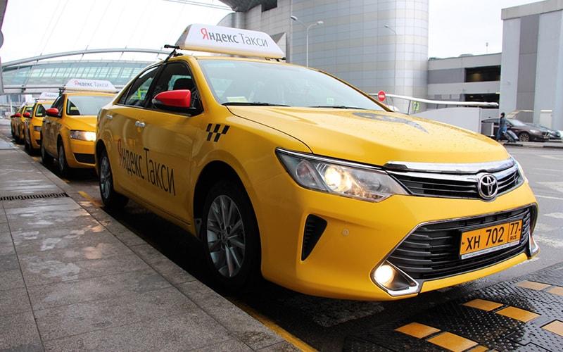 Места заказа такси в «Шереметьево»: