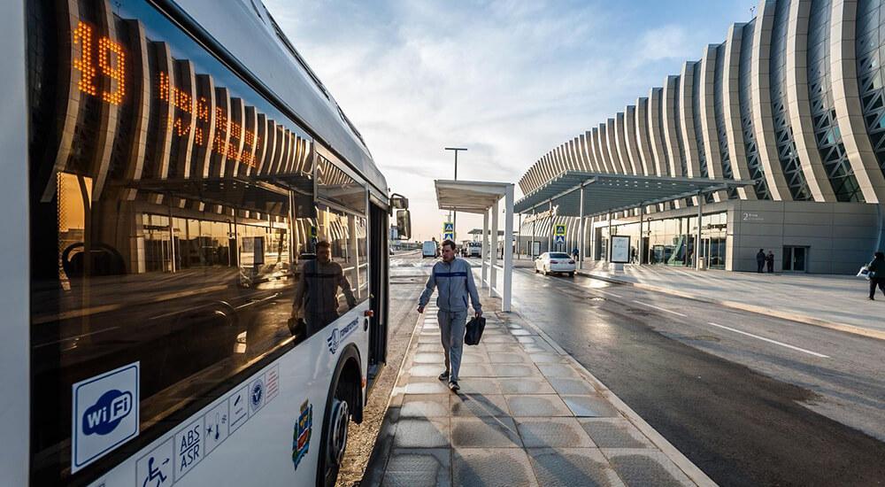 Как проехать в новый аэропорт Симферополь