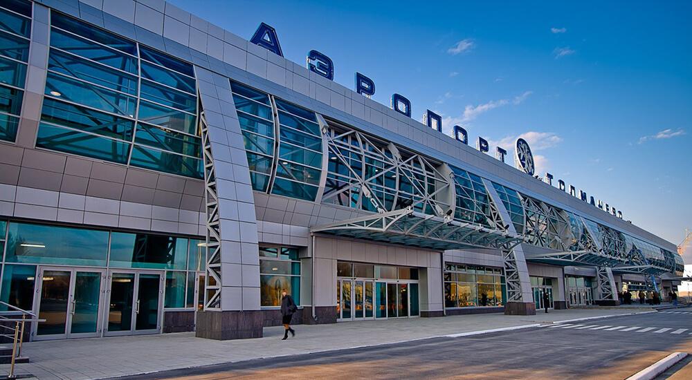 В Новосибирске сняли на видео нападение пьяного пассажира на экипаж самолета