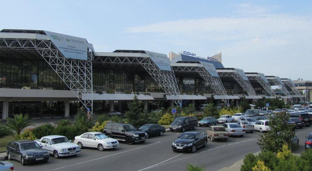 Парковка аэропорт Сочи