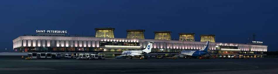 аэропорт Пулково вылет