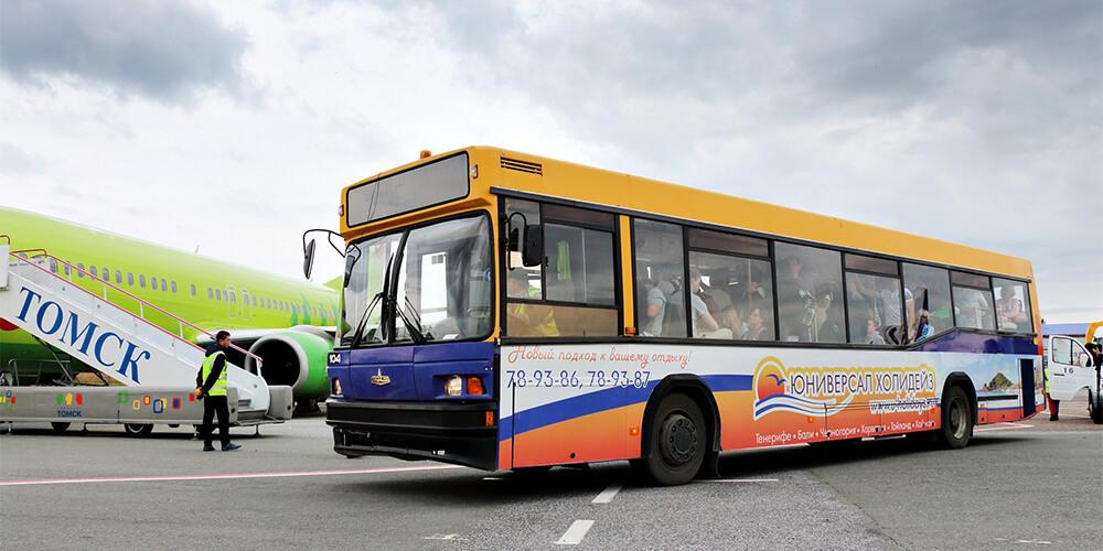 Аэропорт Томск Богашево транспорт
