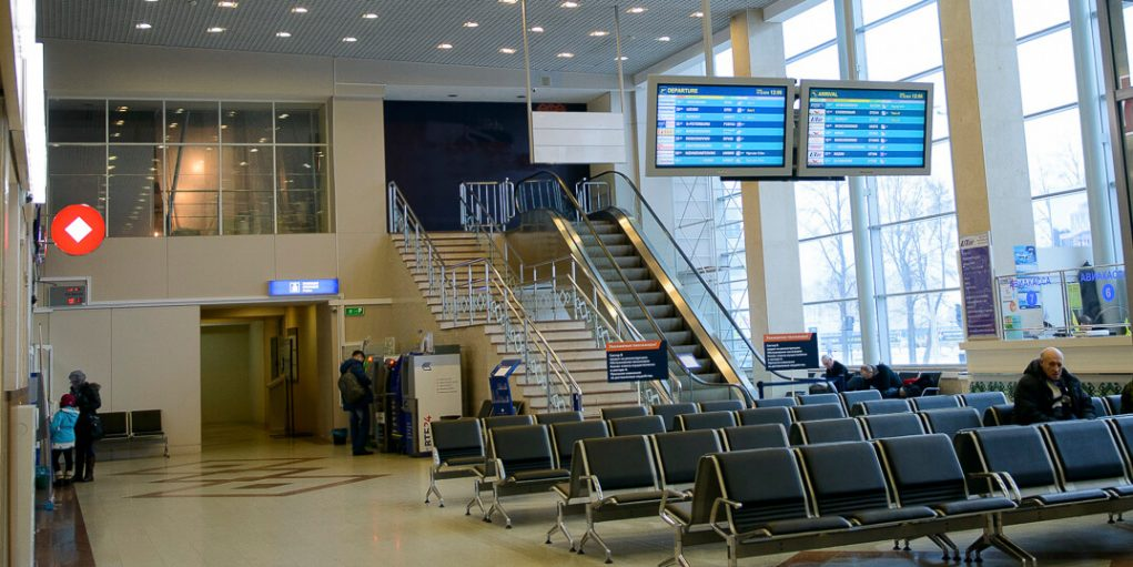 Аэропорт Уфа табло прилета