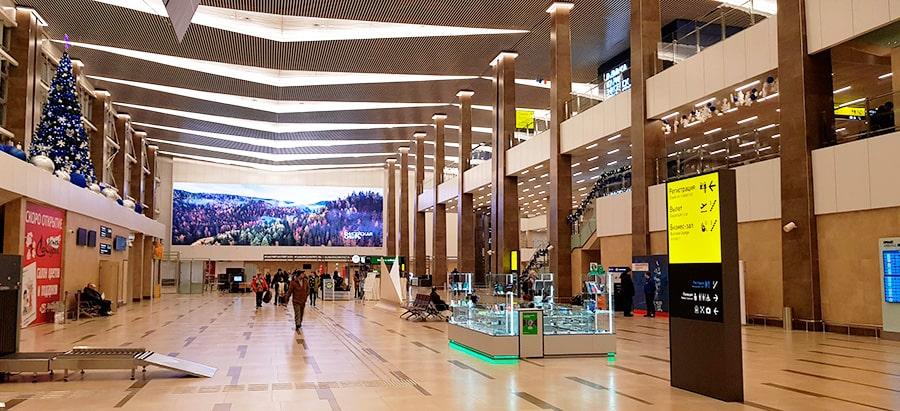 Инфраструктура аэропорта Красноярск