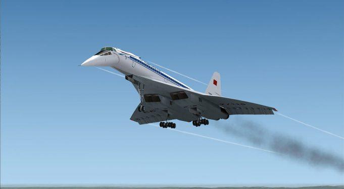Сверхзвуковой самолет Туполева
