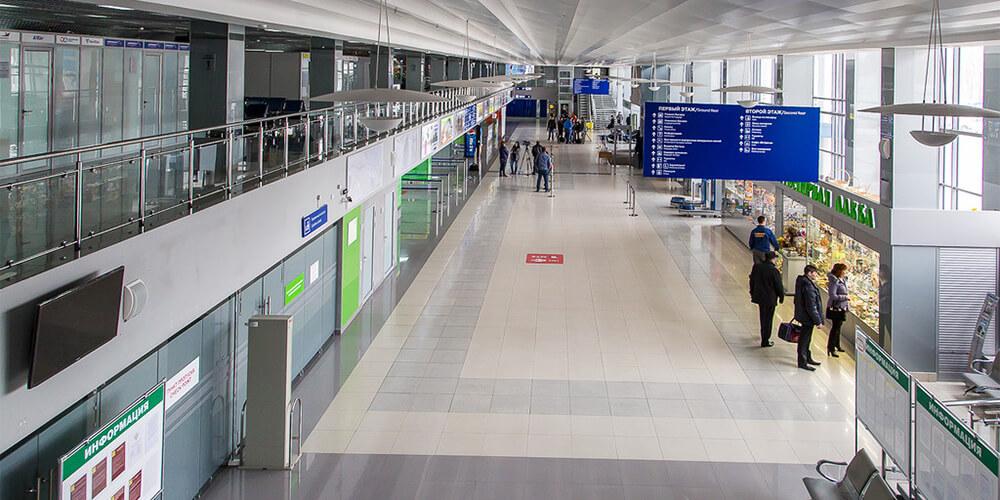 Томск аэропорт прилет