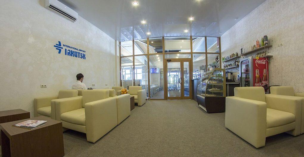 Аэропорт Иркутск: зал ожидания