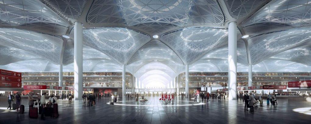Новый аэропорт Стмбула: онлайн-табло прилета на русском