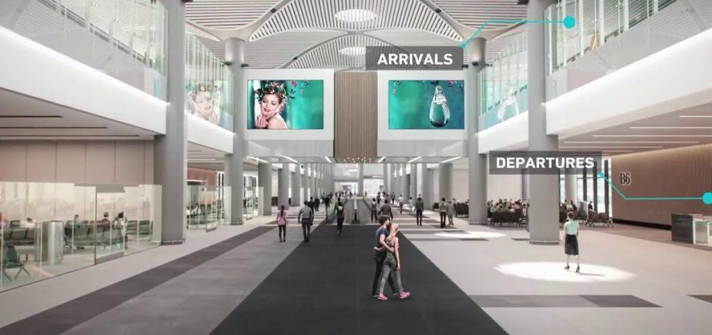 Онлайн-табло прилета новый аэропорт Стамбула