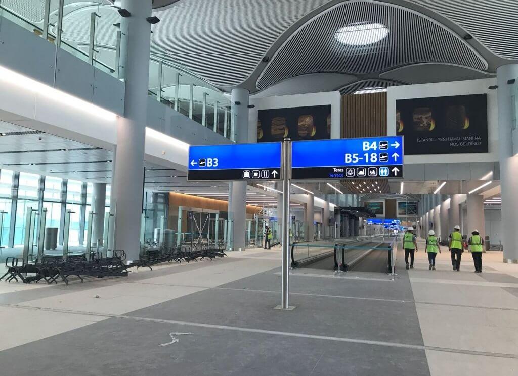 Строительство нового аэропорта Стамбула
