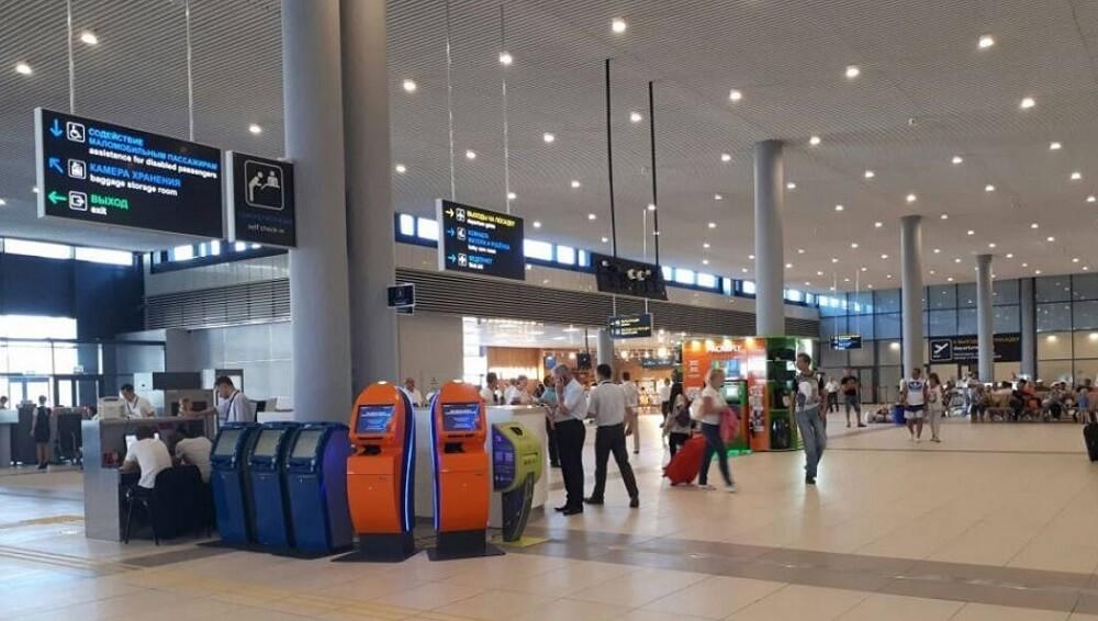 Aэропорт Анапа онлайн-табло вылета на сегодня