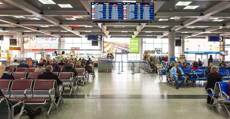 Аэропорт Минеральные Воды: онлайн-табло