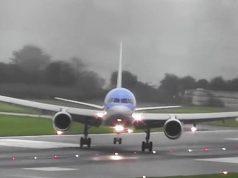 Героическая посадка самолета во время шторма