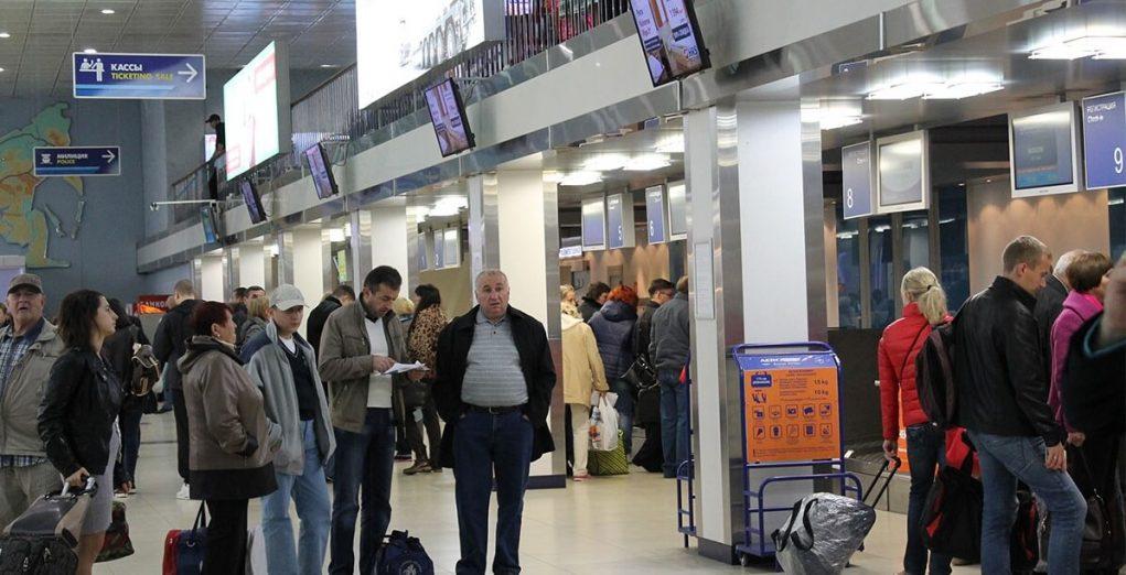 Онлайн-табло вылета аэропорта Челябинск