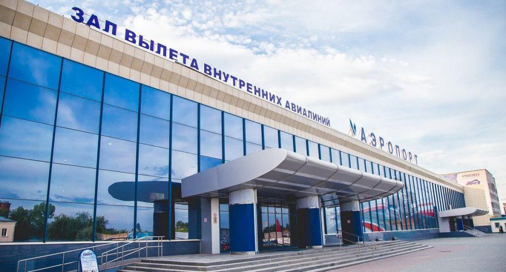 Зал вылета аэропорт Челябинск