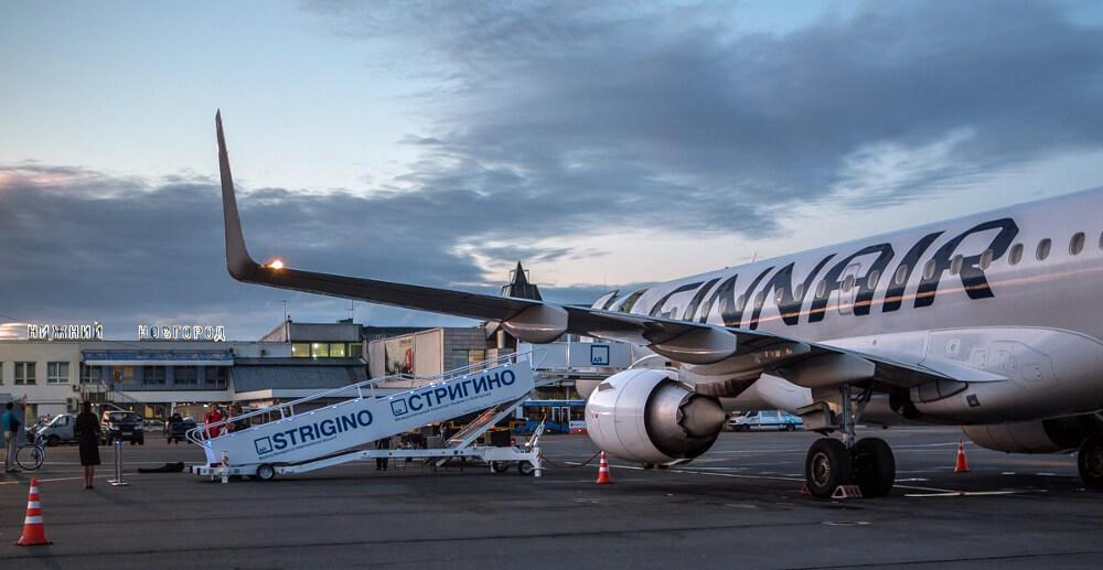 Аэропорт Стригино: прибытие