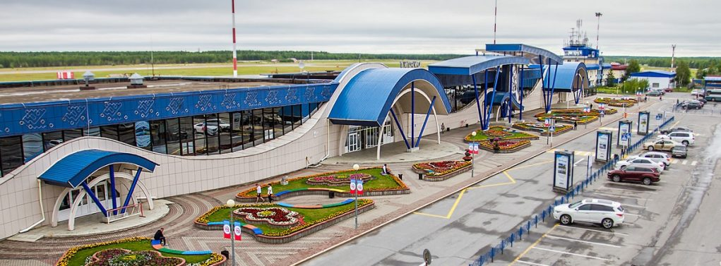 Стоянка аэропорт Сургут