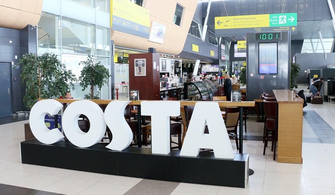 Аэропорт Казань кафе