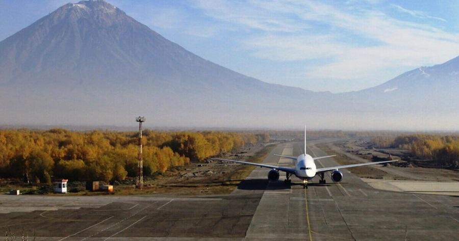 Омский аэропорт: взлетная полоса