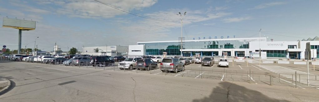 Парковка аэропорт Омск
