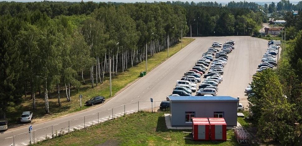 Аэропорт Барнаул парковка