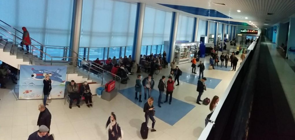 Аэропорт Барнаул прилет