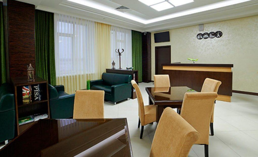 бизнес-зал международных линий «Бунинский»