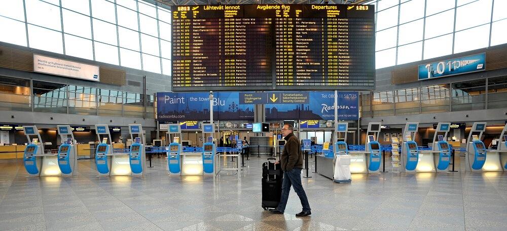 Табло прилета аэропорта Хельсинки на сегодня