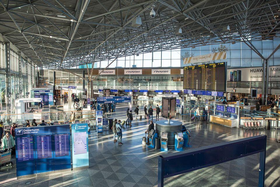 аэропорт Хельсинки онлайн табло вылета