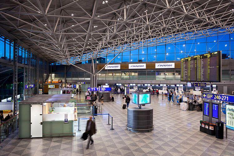 аэропорт Хельсинки онлайн табло