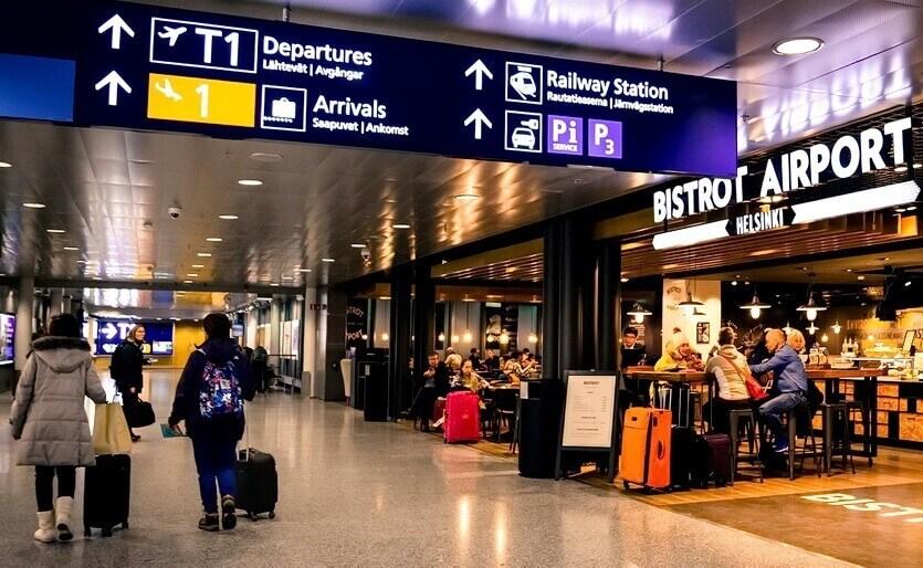 Аэропорт Хельсинки табло прилета онлайн