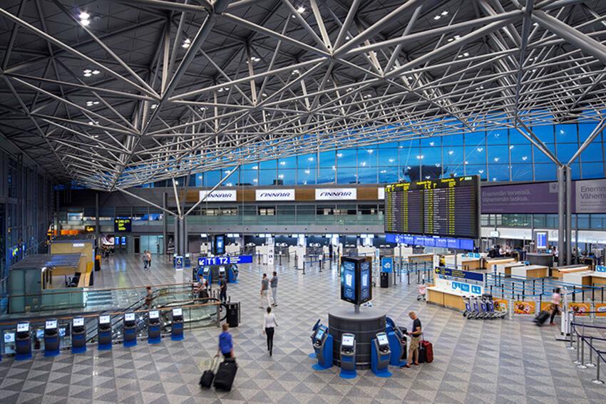 онлайн табло вылетов аэропорта Хельсинки