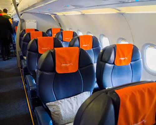 Авиакомпания «Ямал» бизнес-класс