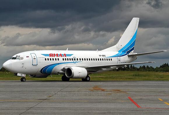 Авиакомпания «Ямал» самолет