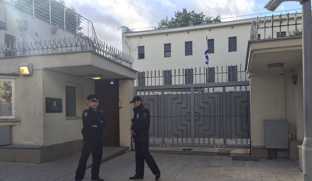 Правила входа на территорию Посольства Израиля